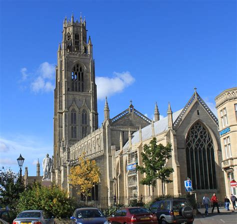 Church In Boston by St Botolph S Church Boston
