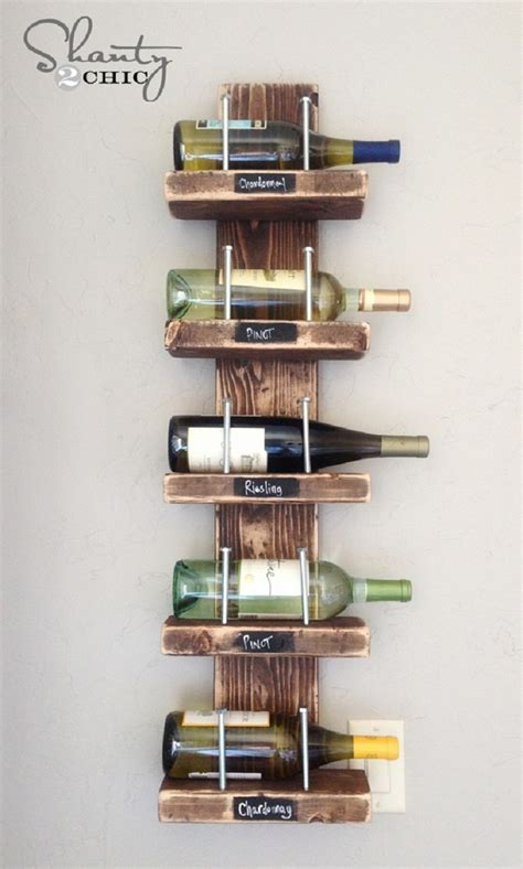 How To Build A Wine Rack Shelf by Wine Racks Made Out Of Pallets Pallet Wood Projects