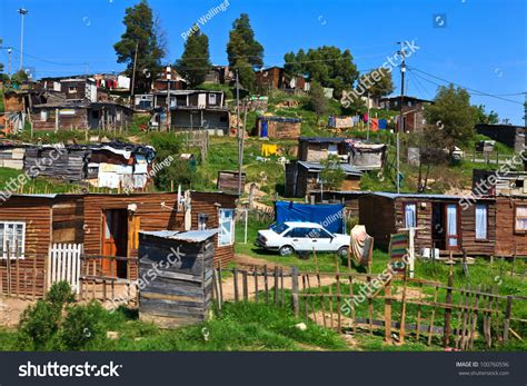 Township Lookup By Address View Of A Township In South Africa Stock Photo 100760596