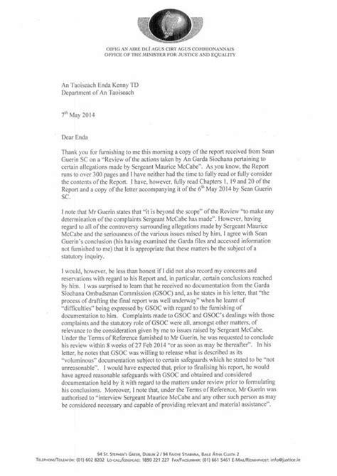 resignation letter ireland alan shatter s resignation letter in mirror