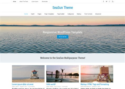 wordpress themes free header best free wordpress themes with full width header image 2018