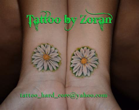 daisy tattoos for men 35 tattoos