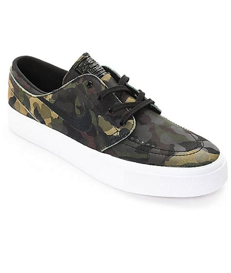 camo shoes nike sb stefan janoski premium high camo white