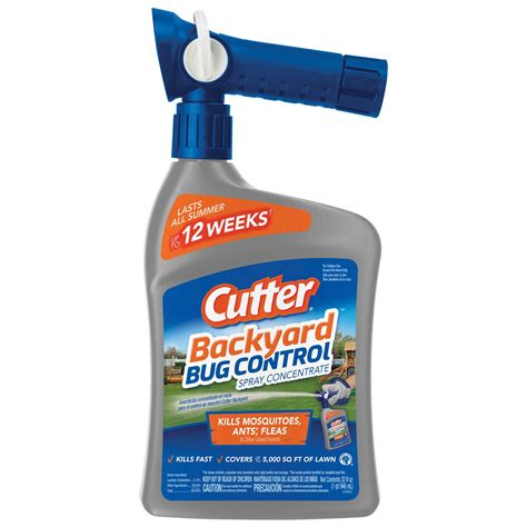 Cutter Backyard Bug Control Concentrate Off Deep Woods Insect Repellent V 6 Oz Chet Baker The