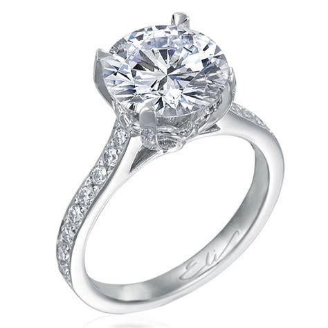 nagi bridal beignet solitaire platinum