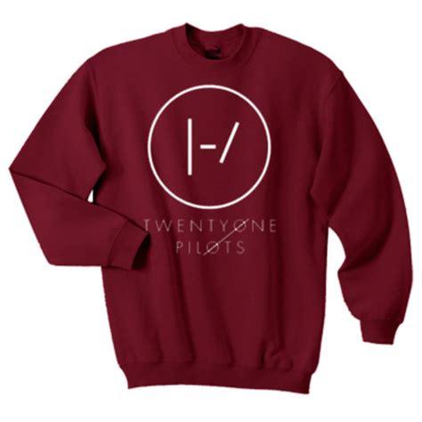 Sweater Twenty One Pilots Logo Redmerch shirt ootheday oothedaydotcom twenty one pilots
