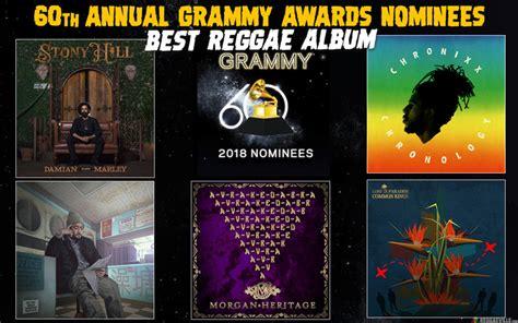best reggae album grammy nominees 2018 best reggae album