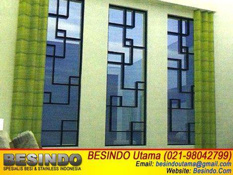 foto desain jendela contoh gambar foto desain teralis jendela model minimalis