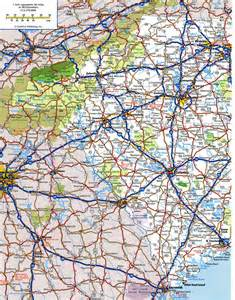 south carolina highway map