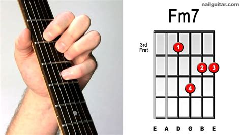 tutorial guitar close to you fm7 fast easy guitar chord tutorial learn electric