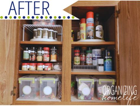 How To Organize Spice Cabinet by How To Organize Your Spice Cabinet Organize Your Kitchen