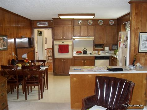 21st Century Kitchens And Cabinets How Painting Wood Paneling Will Change Your Life