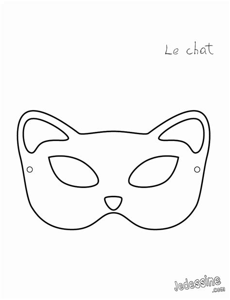 mask template for 5 mask templates printable kixty templatesz234