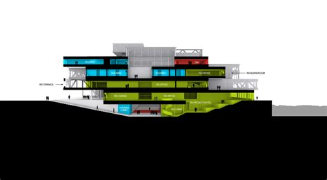 Sections Of A Project by Architecture Photography Section A 236