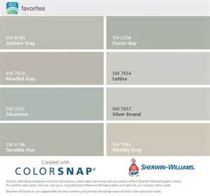 Paint colors silver strand mindful gray oyster pearl passive gray