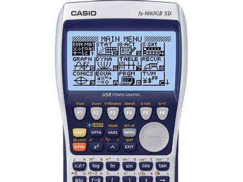 tutorial casio fx 9860gii tutorial casio fx 9860 g2 sd taringa