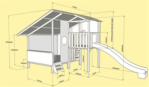 plans for a cubby house large cubby house kits kids cubby houses wooden diy