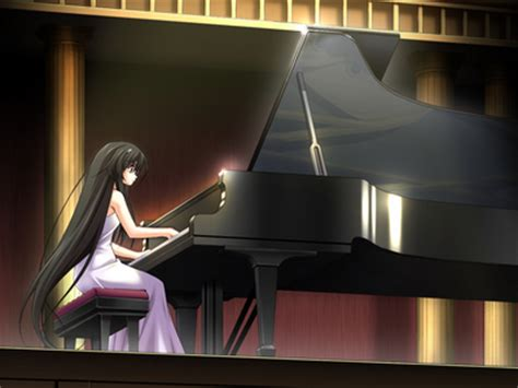 anime piano person playing piano memes