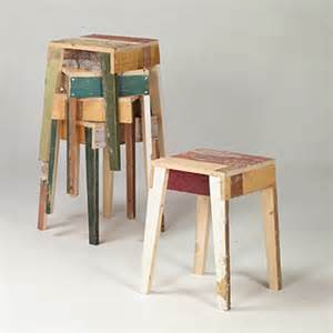 eco furniture from recycle wood green design
