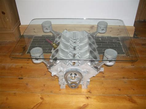V8 Engine Block Coffee Table V8 Engine Table Portugu 234 S