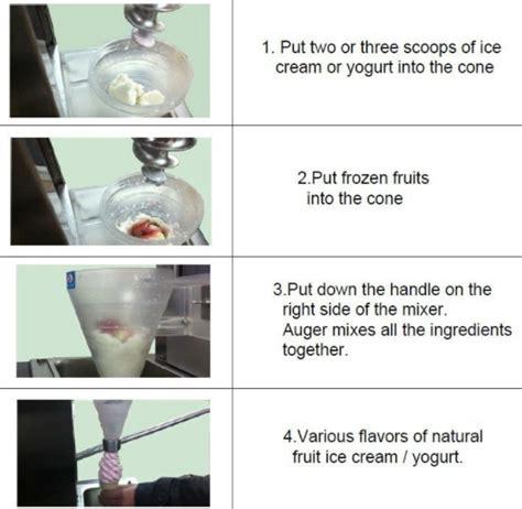 membuat es krim pondan dengan blender mesin blender es krim yogurt multifungsi toko mesin