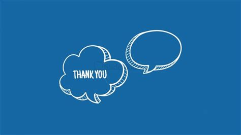 Thank You Hand Drawn Callouts For Powerpoint Slidemodel Thank You Powerpoint Template