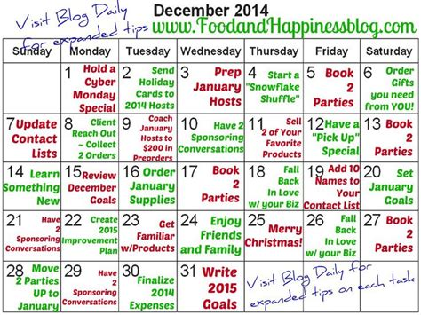 Sell Day Calendar Keep Your Home Business Working All Month With This
