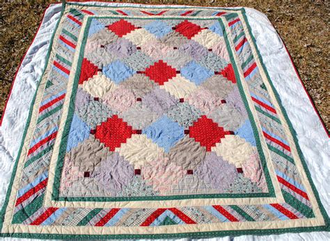Antique Patchwork Quilts For Sale - american folk patchwork comforter quilt blanket