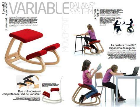 sedia per la schiena varier variable sedia ergonomica balance system onfuton