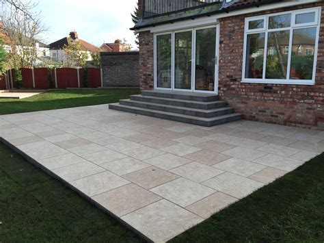 Marshalls Patio Paving by Marshalls Symphony Paving Patio West Derby Liverpool