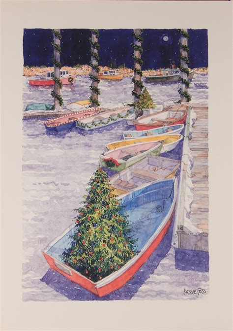 nautical cape cod christmas cards nautical cards 848 by hill designs