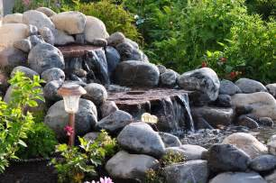 this grandmother s garden building our waterfall part 3