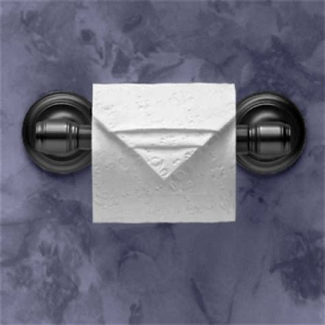 Folding Toilet Paper Fancy - toilet paper origami delight your guests with fancy folds