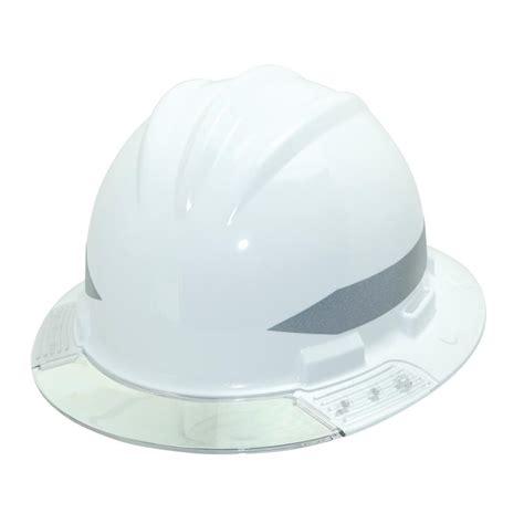 bullard hats bullard white brim above view hat with clear