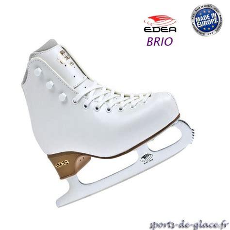 brio ice edea brio ice skates with blades sports de glace fr