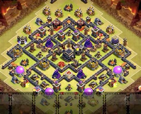 Ultimate Th9 Layout | th9 war base layouts insane warriorz clan