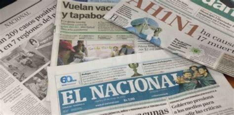 los diarios de emilio peri 243 dicos venezolanos no circulan en semana santa para ahorrar papel