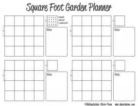 Garden Planner Template by Square Foot Garden Planner Fmf Outdoors
