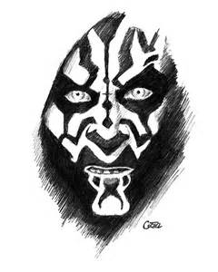 darth maul coloring viewing gallery