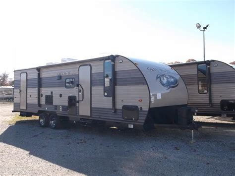 travel trailer with bunk beds and outdoor kitchen 2018 grey wolf 26dbh travel trailer with bunk beds