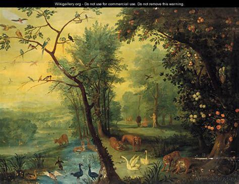 adam and eve in the garden of eden jan the elder
