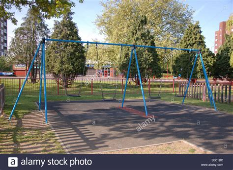 swing ground children s swing at the play ground in roe green park