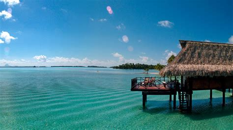 south pacific overwater bungalows overwater bungalows in the south pacific water villa