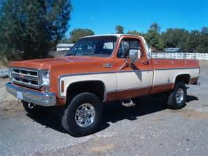 buy used 1976 chevy 3 4 ton 4x4 original paint low