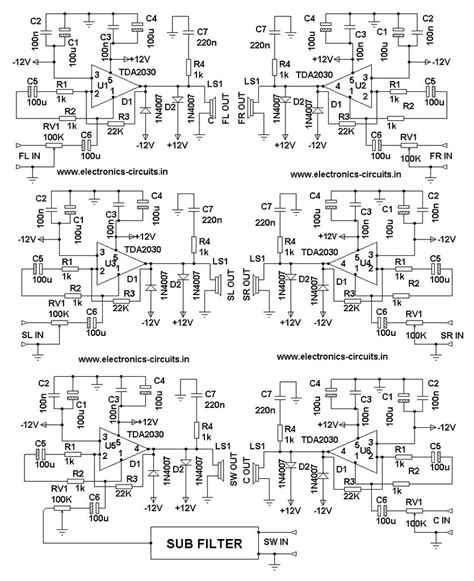 suggest   circuit diagram  stereo