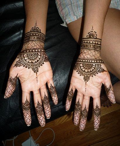 henna tattoo galleria mall the cuffs mandala and the simple fingers with polka