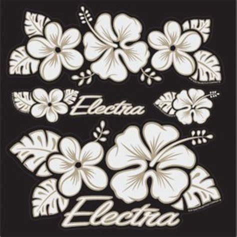 Electra Aufkleber Set Hawaii by Electra Bicycle Sticker Set Hawaii Flower