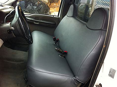cost to reupholster bench seat truck seat repair truck seat covers truck interiors