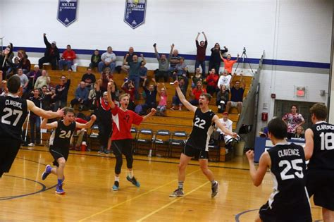 section v boys volleyball wny boy s section vi playoff brackets posted volley talk