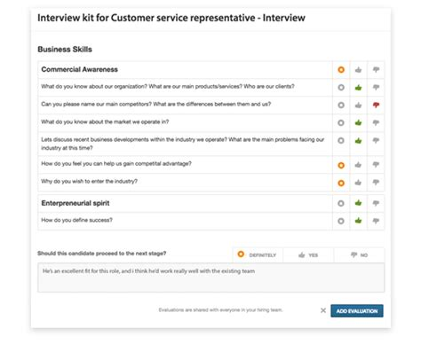 create interview kits and scorecards workable